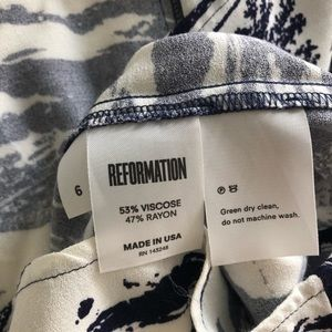 Reformation Dresses - Reformation Gavin Dress